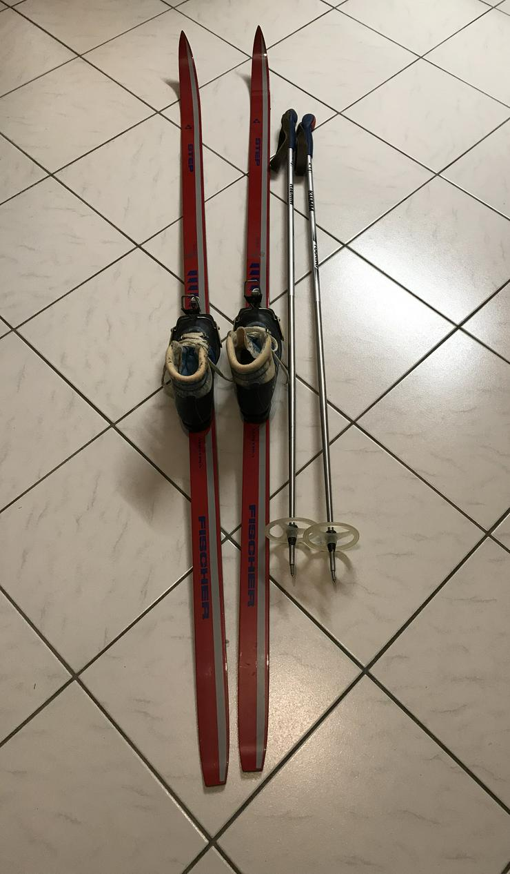 Langlaufski (180cm) mit Schuhe (37)