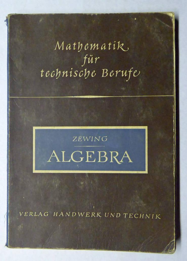 Algebra Math. für techn. Berufe
