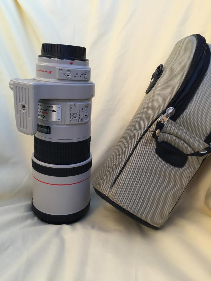Teleobjektiv Canon EF 300mm f4 L IS incl. Zubehör