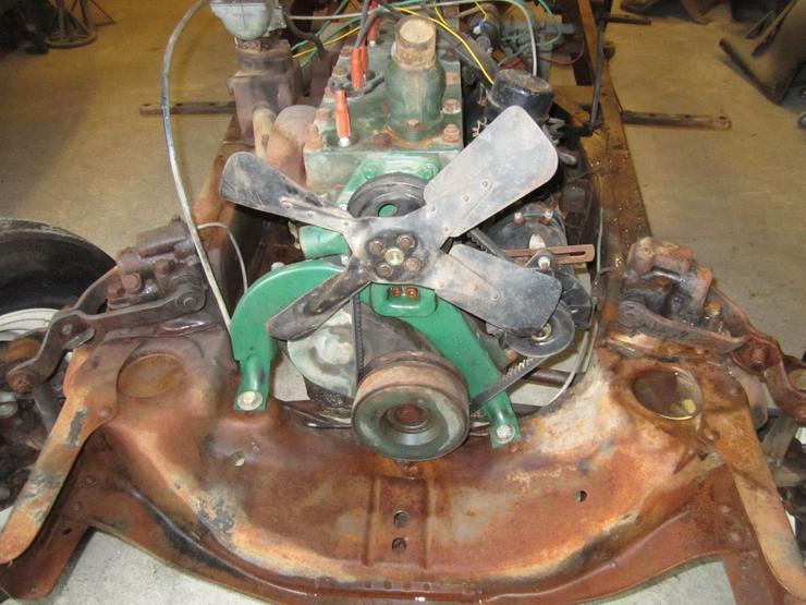 Oldtimer Kompletter Antriebsstrang Packard One-Ten 6 Zylinder.