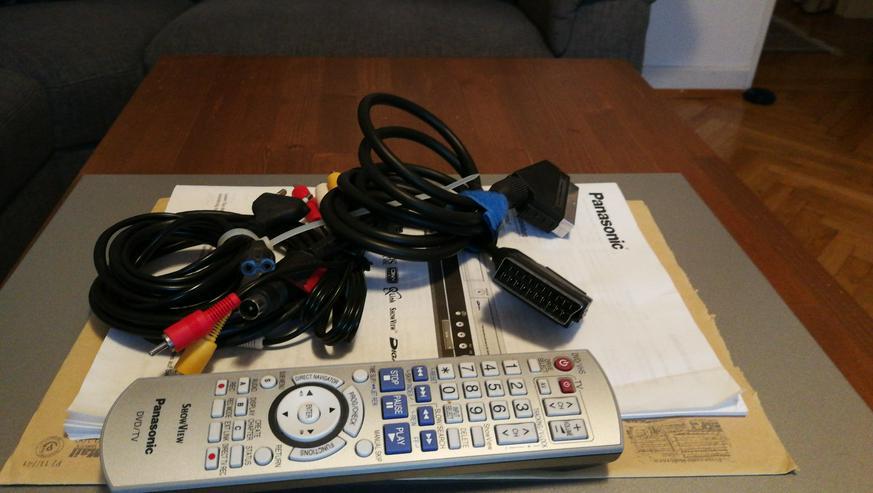 Bild 2: DVD, CD + VHS PLAYER IN EINEM