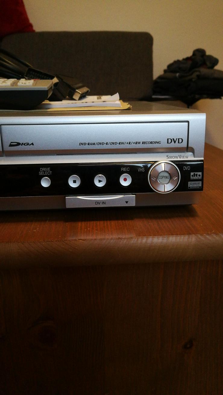Bild 3: DVD, CD + VHS PLAYER IN EINEM