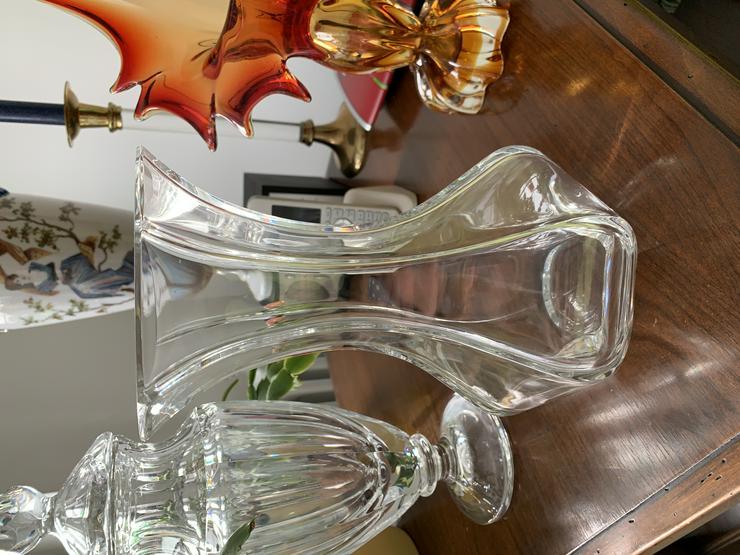 Kristall Facetten Vase