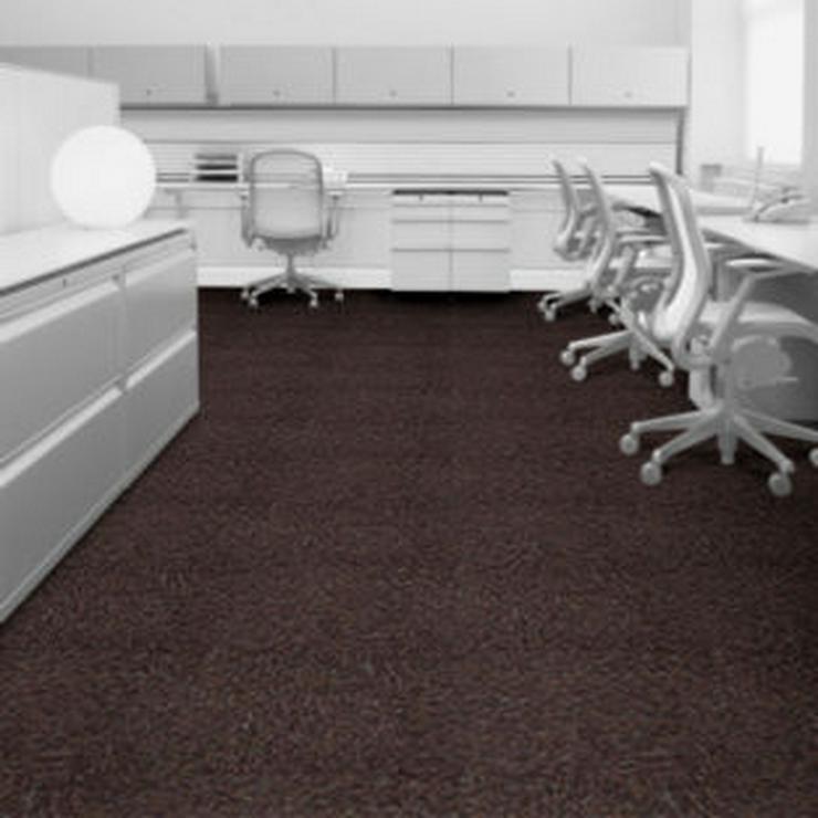 Bild 6: Superflor Teppichfliesen von Interface A-Qualität. Mehrere Farben