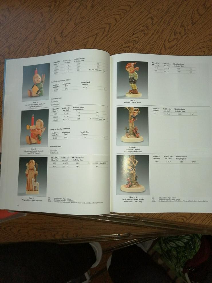 """Bild 2: Buch """"Die zauberhafte Welt der M. I. Hummel Figuren"""""""