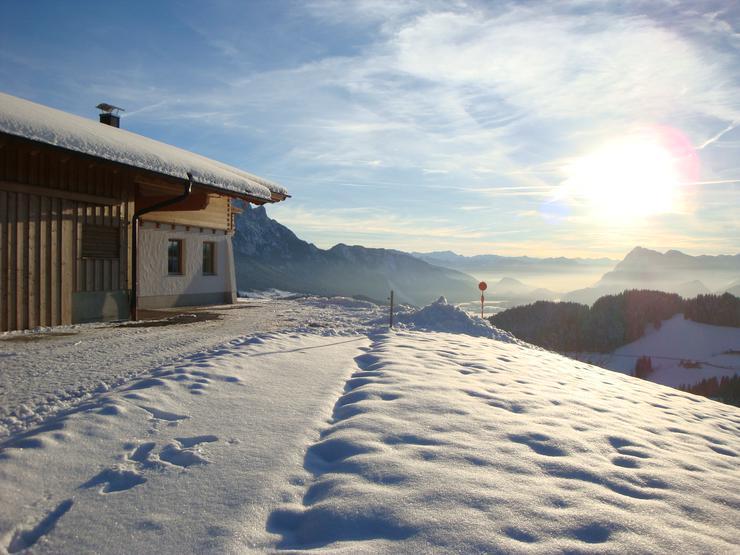 Bild 2: Komfortable Almhütte in traumhafter sonniger Alleinlage in Tirol