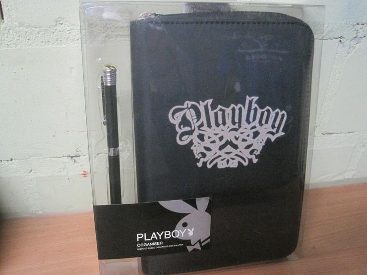Playboy Organizer Ringbuch Regenschirm Playboy