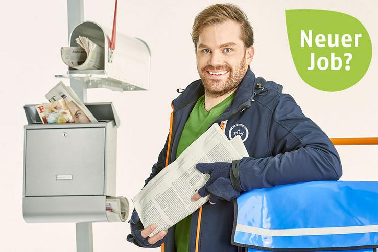 Zeitung austragen in Greußenheim - Job, Nebenjob, Minijob