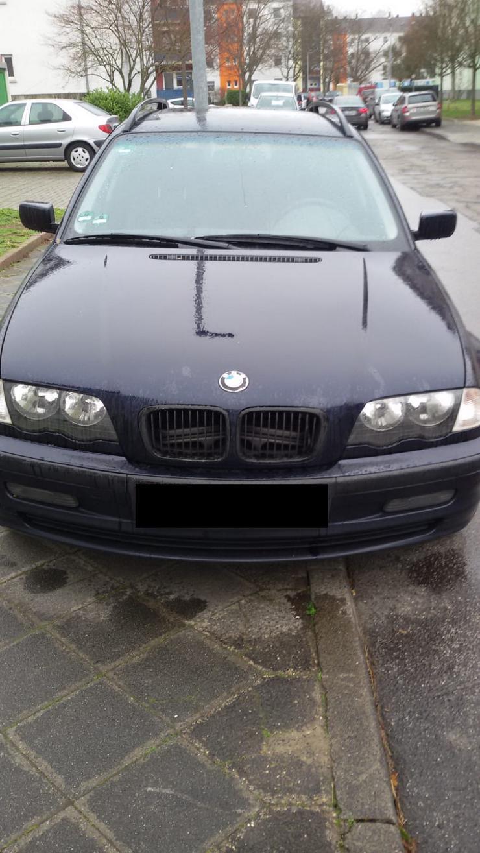 BMW 318I e46 Kombi mit Motorschaden