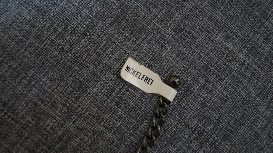 Bild 2: Halsband, blau, Modeschmuck