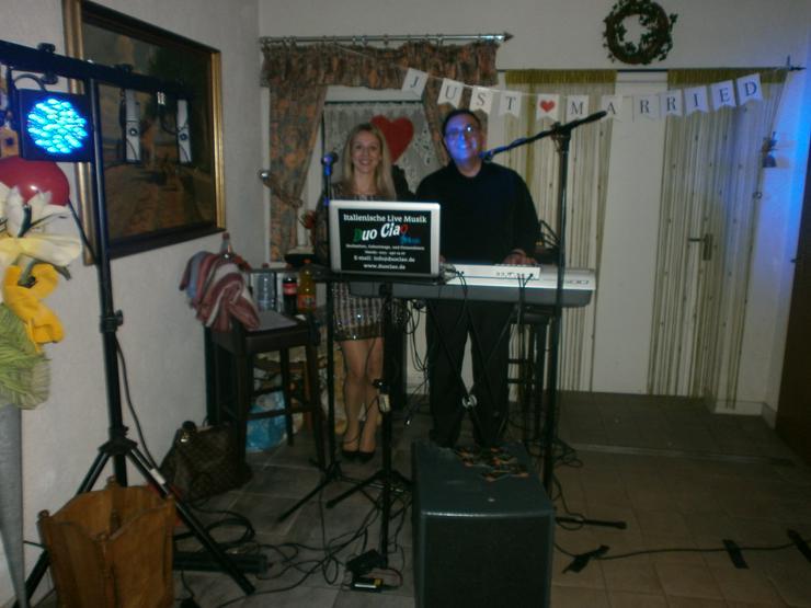 Italienisch DUO CIAO LIVE Sänger + Sängerin HOCHZEIT PARTY SOMMERFESTE GEBURTSTAG KARNEVAL UVM