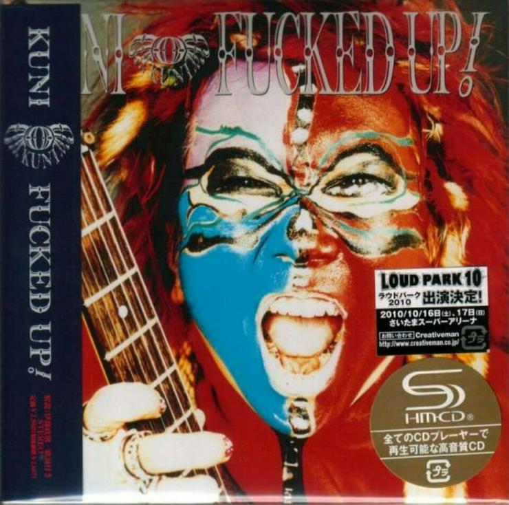 Kuni - Fucked Up ! Jap CD + Bonustracks