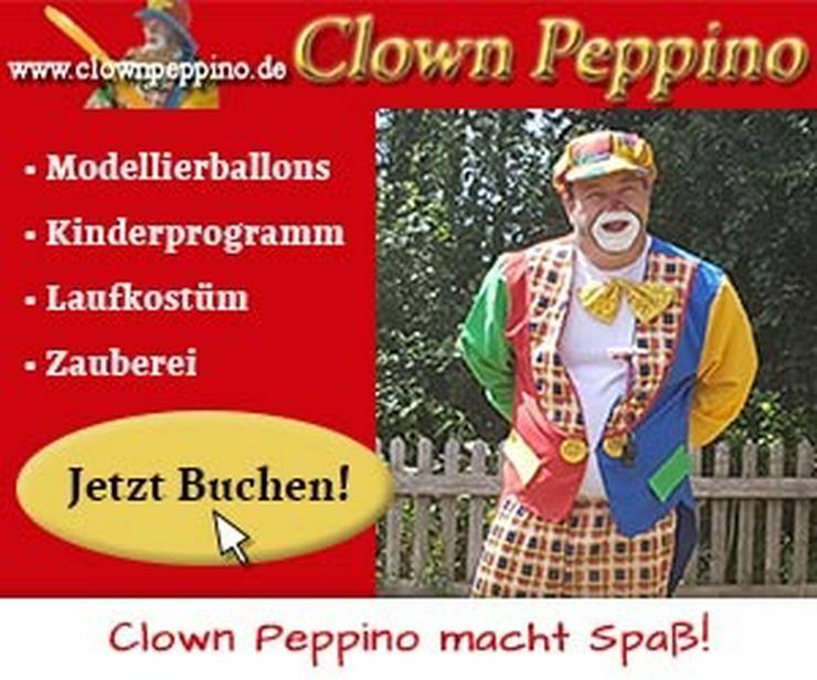 Clown Peppino Kinderanimation Clown Ballonmodellage