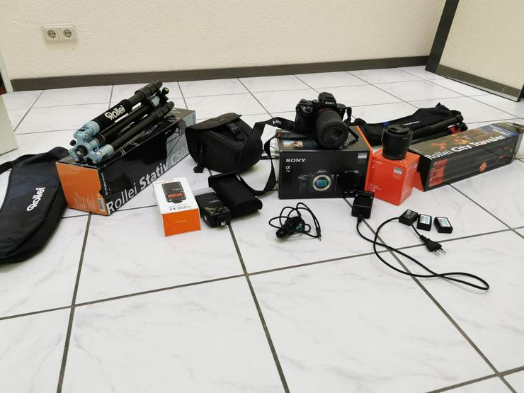 Kamera Sony Alpha 7 II inkl.28-70 & 50 1,8FE OVP+Garantie+Zubehör