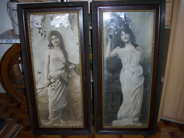 drucke um 1890 2 Bilder - Poster, Drucke & Fotos - Bild 1