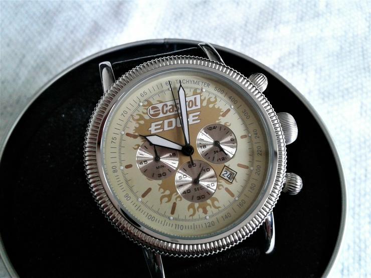 Castrol EDGE Herrenchronograph Limited Edition,neu ungetragen
