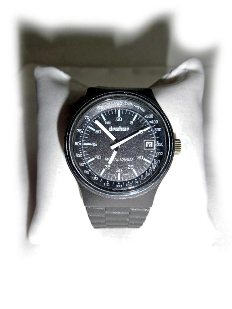 Seltene Armbanduhr von Dreher - Herren Armbanduhren - Bild 1