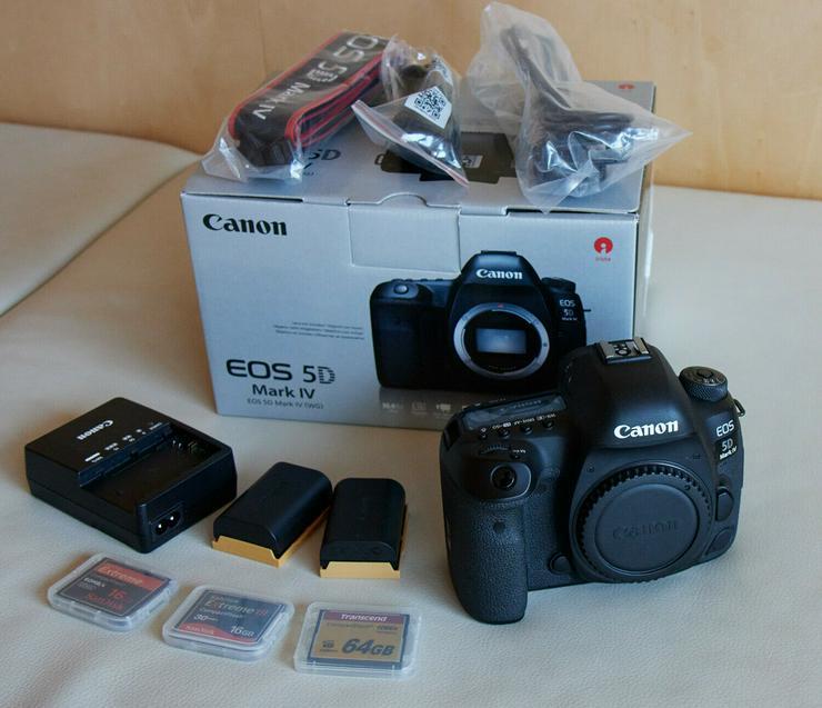 Canon EOS 5D Mark IV 30.4MP Digitalkamera