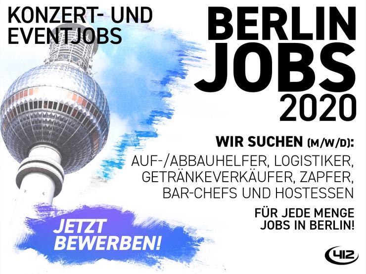 Aushilfsjob im Konzert- und Festivalbereich in der Waldbühne Berlin
