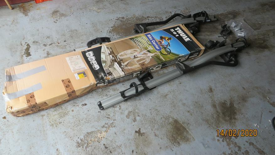 Dach-Fahrradträger THULE ProRide 591 neuwertig !