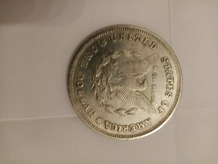 Bild 2: Silbermünze zu verkaufen