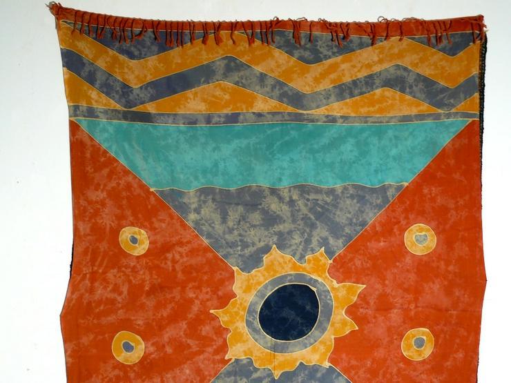 Bild 2: Indonesische Batik antik 160x113 T096