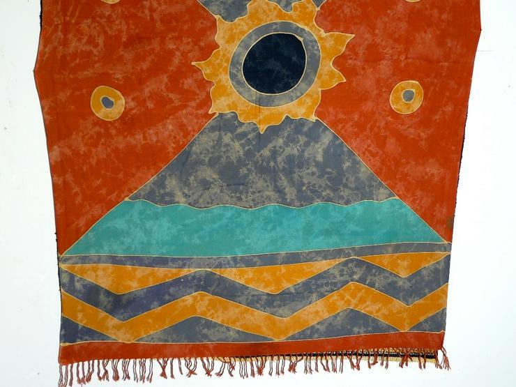 Bild 3: Indonesische Batik antik 160x113 T096