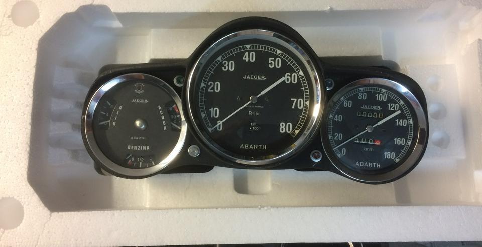 cockpit abarth 850 TC