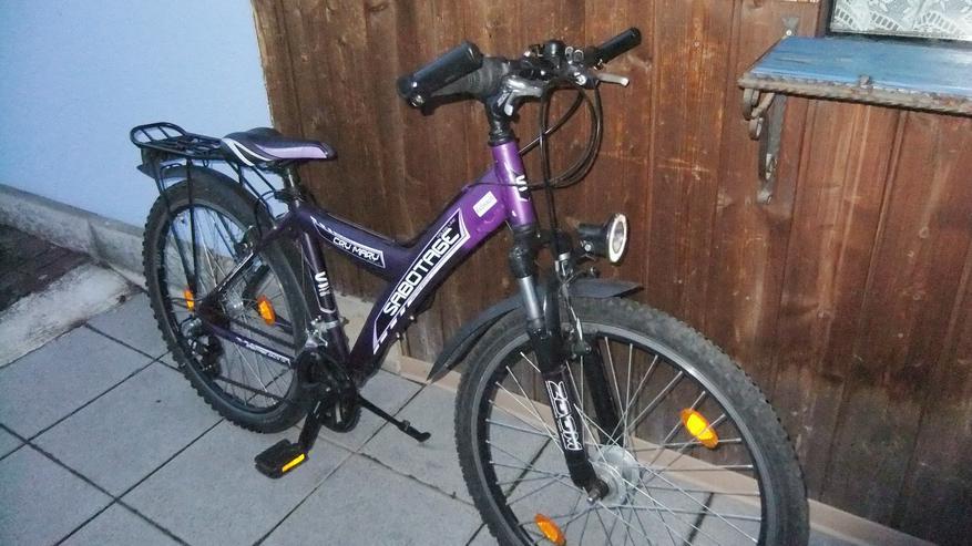 Jugendfahrrad Mädchenrad 26 Zoll lila von Sabotage