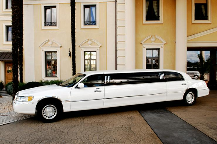 Bild 1: Stretchlimousine & Limousine & Hochzeitslimousine.