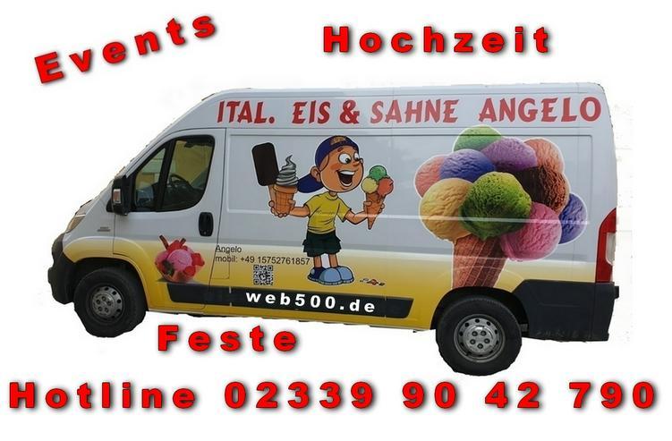Bild 3: DEIN EISWAGEN kommt nach Wuppertal Hagen Remscheid Gevelsberg Schwelm Ennepetal Bochum Hagen Hilden Metmman Hochzeit Heiraten Firmenfest Geburtstag Stadtfest Messe Party Feier Sommerfest