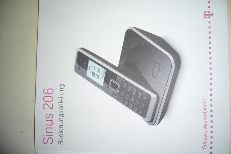 Schnurlos Telefon Deutsche Telekom Sinus 206
