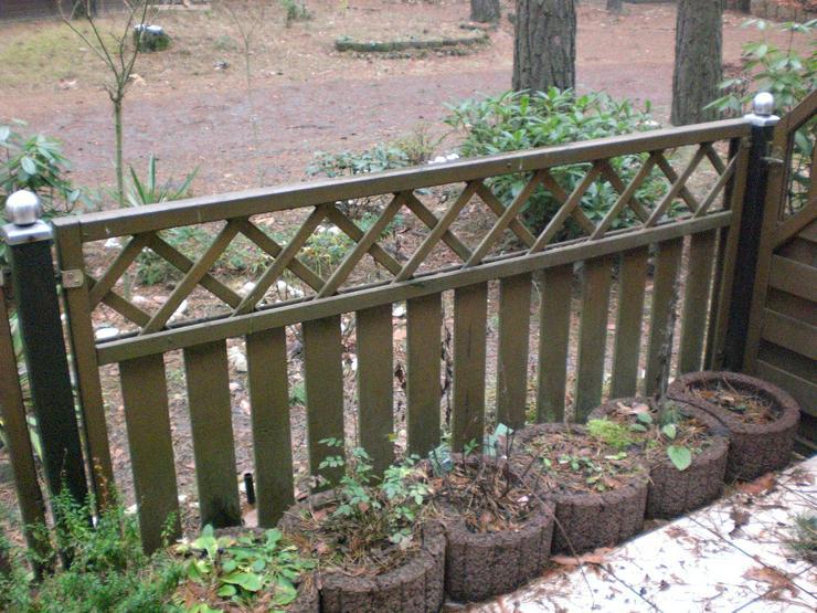 Bild 2: Gartenzaun – Zaunfelder