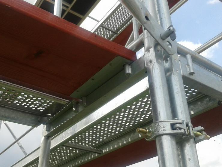 Neues Gerüst 312qm komplettes Fassadengerüst
