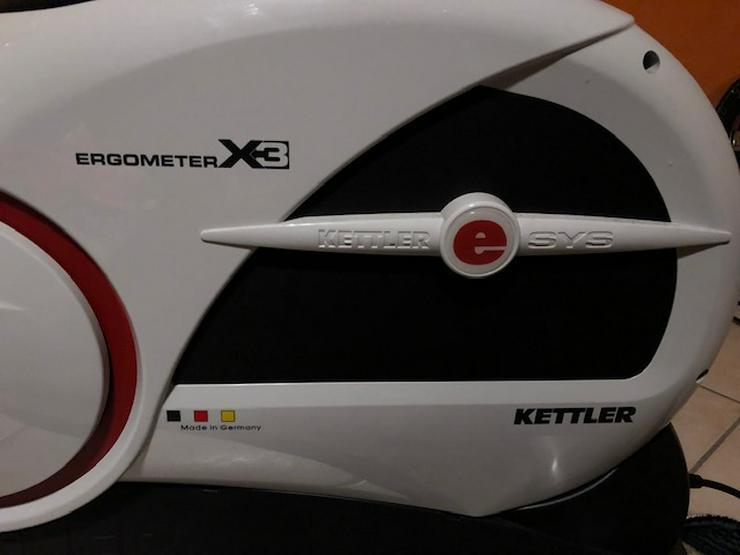 Bild 2: Kettler Heimtrainer Ergometer X3