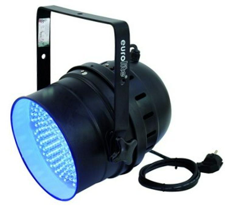 Verleih LED UV-Scheinwerfer I Schwarzlicht I UV Partylicht mieten - Party, Events & Messen - Bild 1