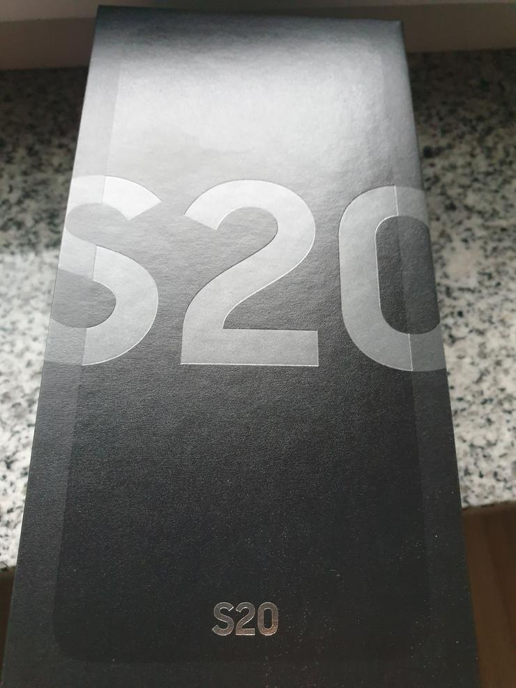 Samsung Galaxy s20 Cosmic Gray Grau 128 gb NEU & OVP mit Rechnung