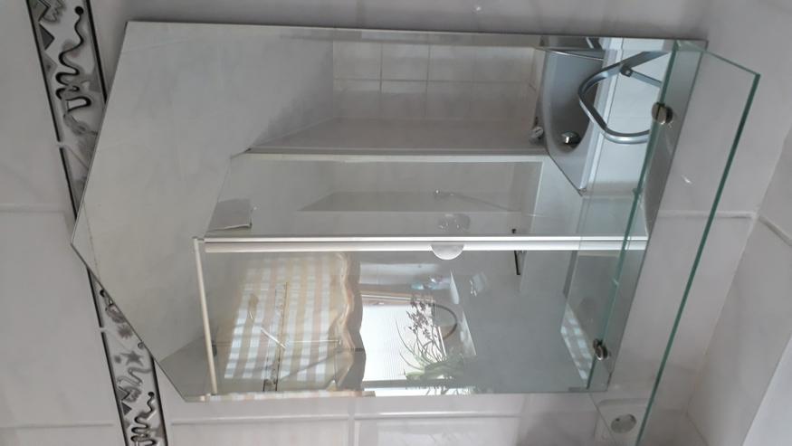 Badspiegel 2 Stück mit Glasablage