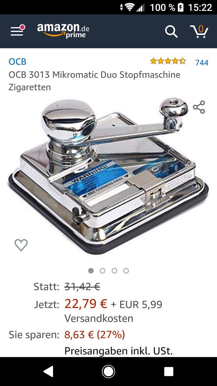 Stopfmaschine