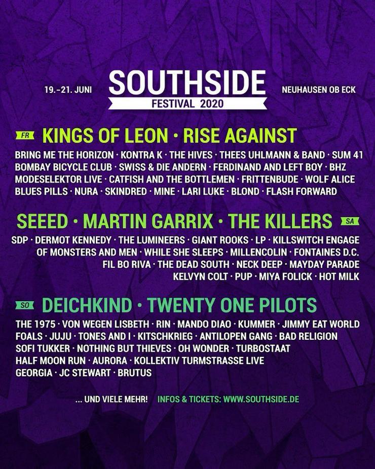 2x Karten für Southside 2020 - Festivals - Bild 1