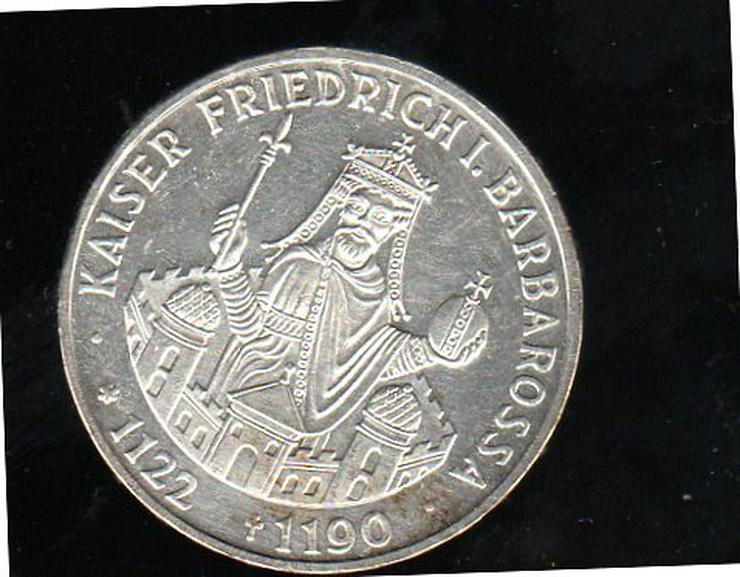 10 DM F. Barbarossa 1990  - Deutsche Mark - Bild 1