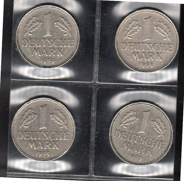 1 Satz 1954 DFGJ - Deutsche Mark - Bild 1