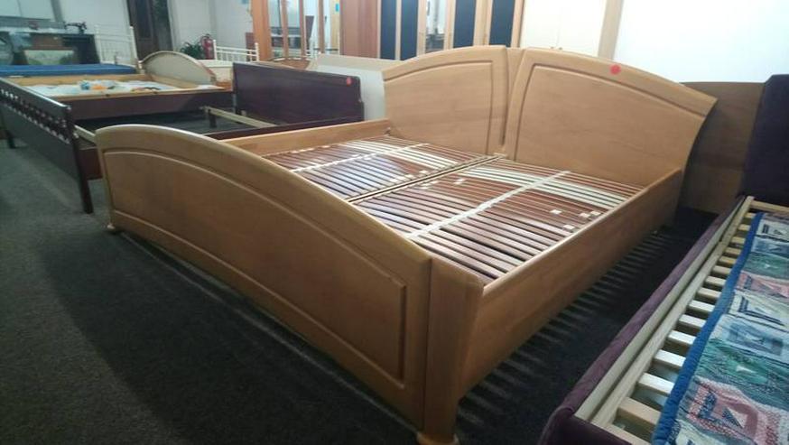 Bett Doppelbett Ehebett Holzbett Lattenroste inkl. 200x200
