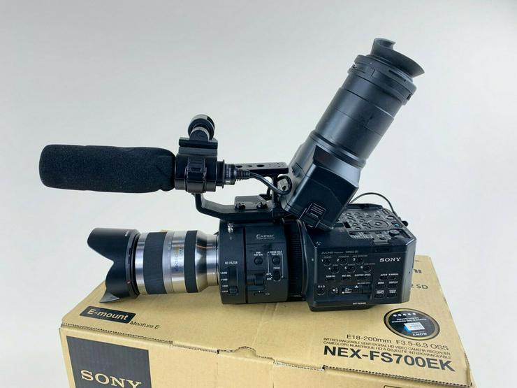 Sony NEX-FS700R E-Mount 4K