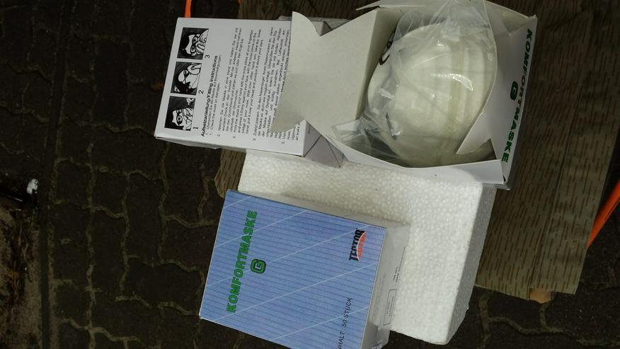 Staubschutz-Atemschutz 200 Masken ohne Ventil