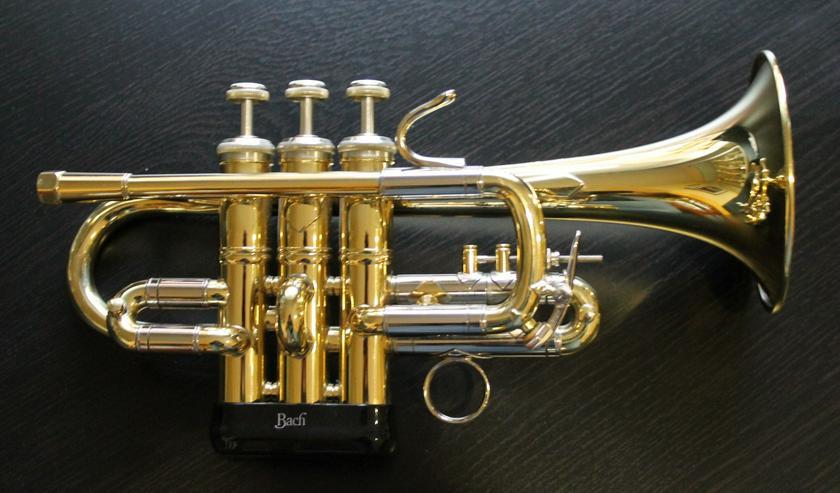 Vincent Bach Stradivarius Profiklasse Hoch G - Piccolo - Trompete Mod. 311 inkl. Koffer