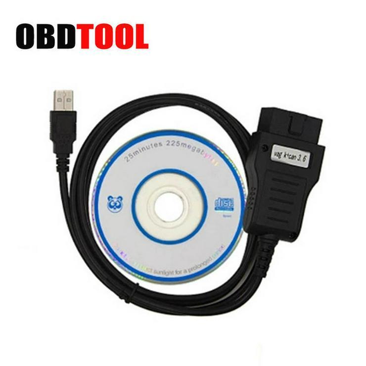 VW AUDI SKODA SEAT OBD2 Tacho Rückstellung Justierung Hardware + Software - Werkzeuge - Bild 1