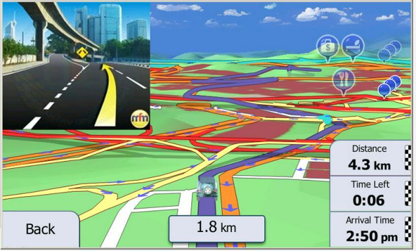 IGO Primo9 Android Navigation Software 8GB SD Karte