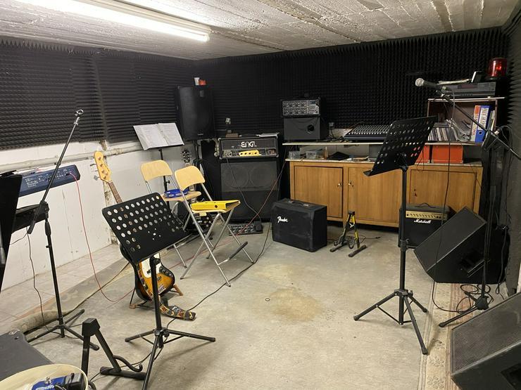 Bild 4: Proberaum mit Wohnung in Holzwickede / Bluesband sucht Drummer