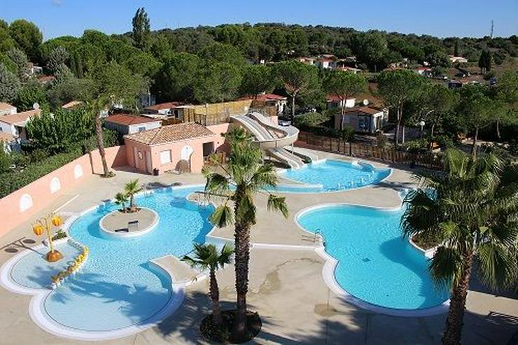 Süd-Frankreich: Urlaub 2020 in einem Mobilheim im 4 sterne Campingplatz im Hérault